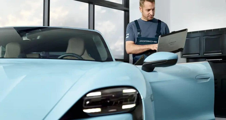 Porsche Taycan Software Updates