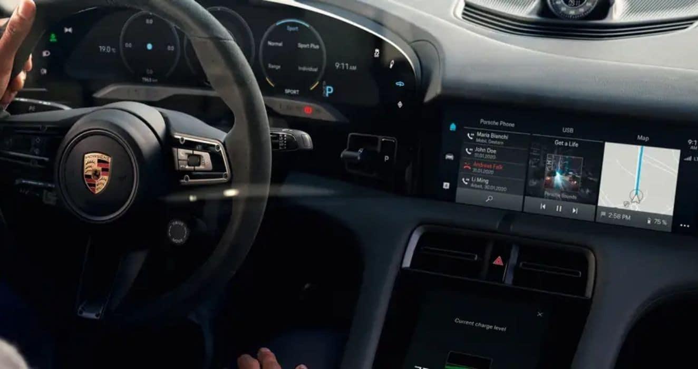 Software Updates for Porsche Taycan