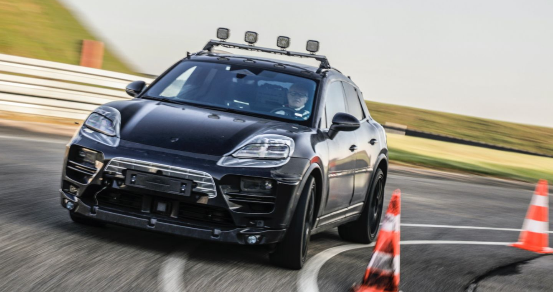 Fully Electric Porsche Macan