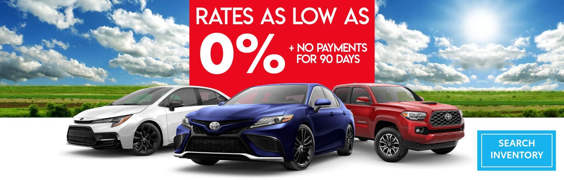 April 21 Low Rate