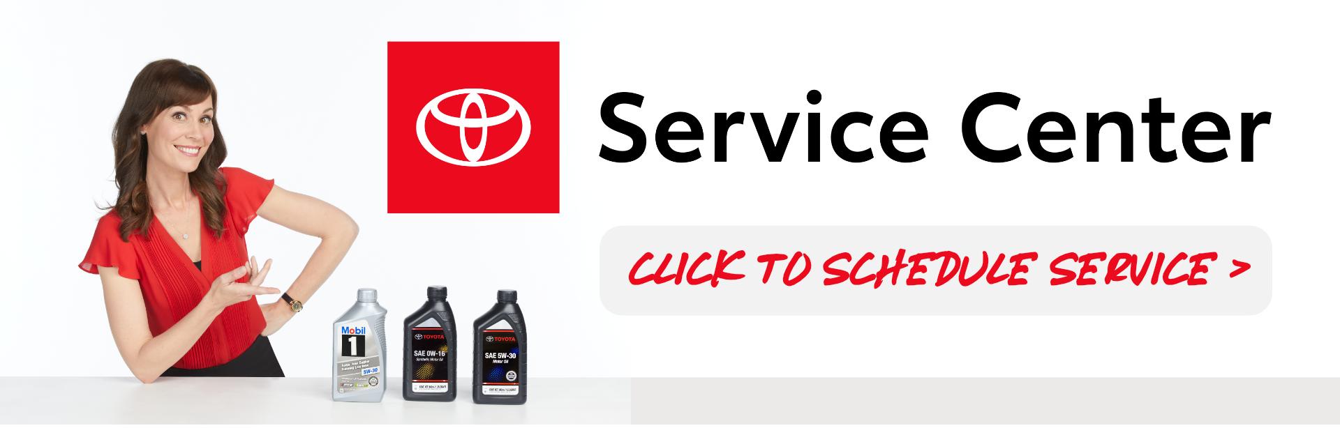 toyota sylacauga schedule service