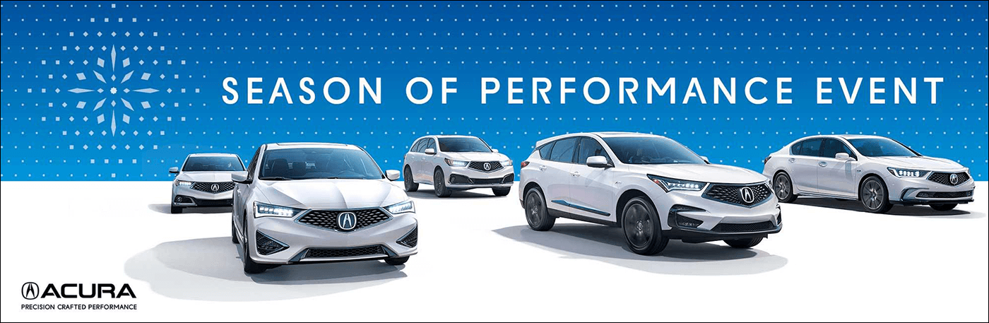 2018 Acura Season of Performance Event from Your Upstate New York Acura Dealers