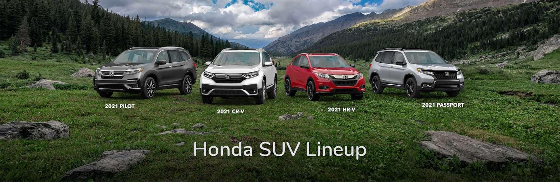 Honda SUV Lineup Vern Eide Honda Slider