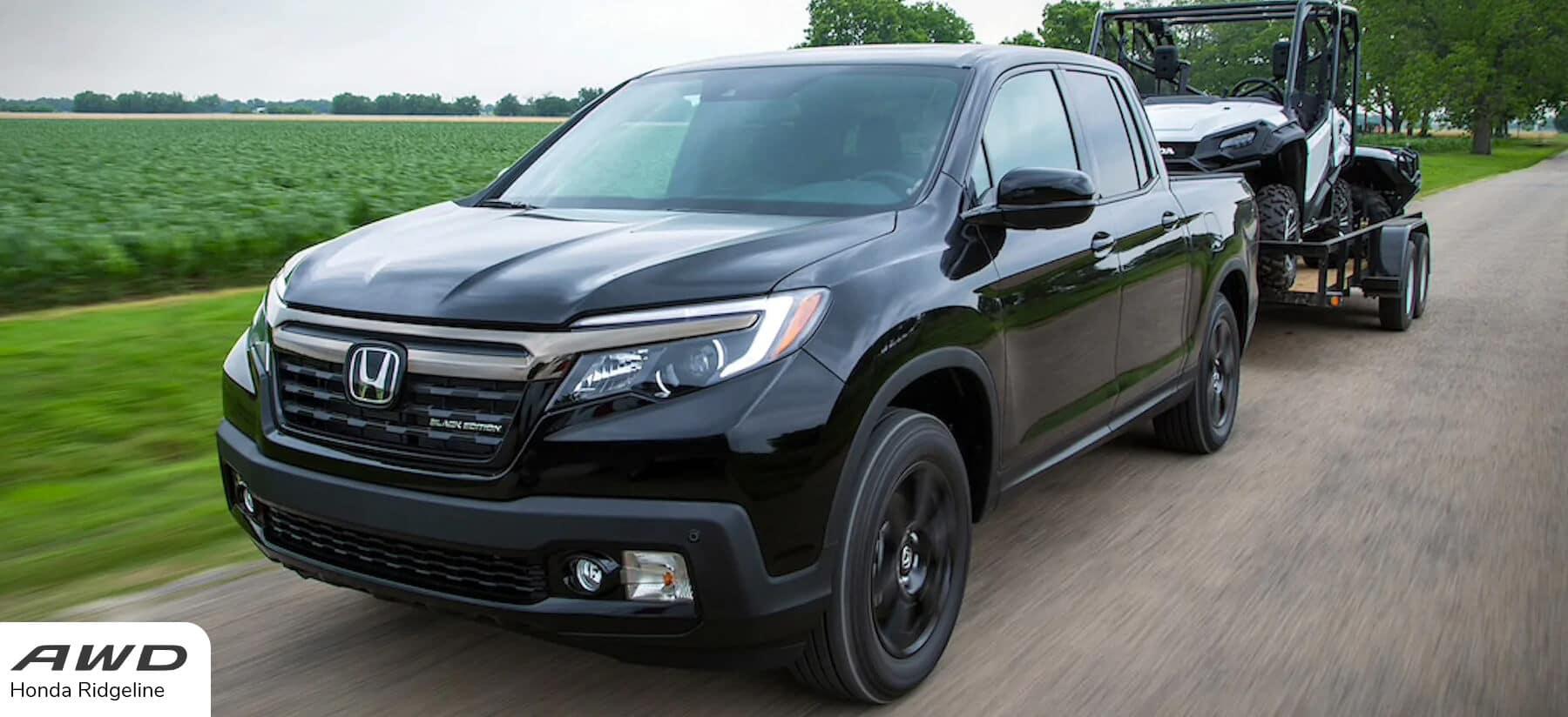 Honda All-Wheel Drive Ridgeline Slider