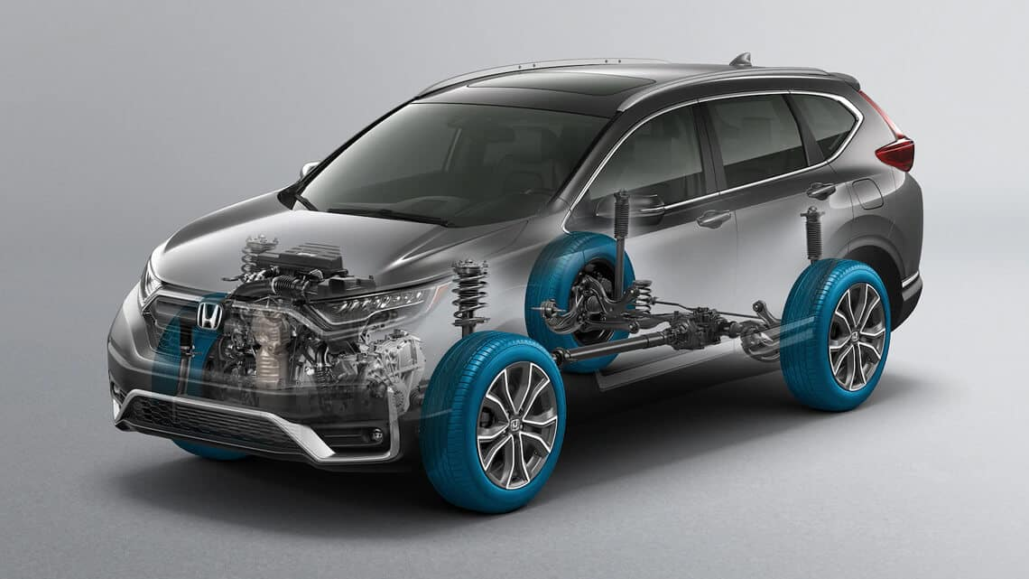Honda Real Time AWD Intelligent Control System Image