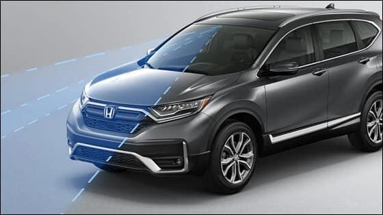 Honda CR-V with ACC