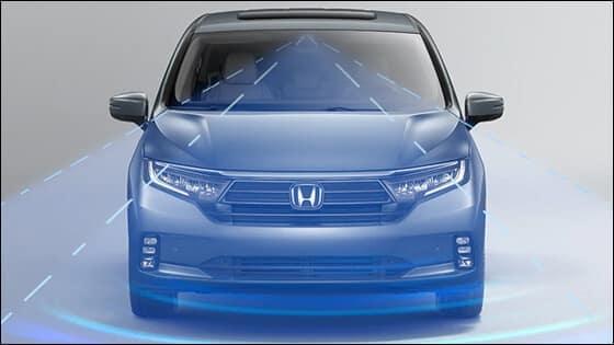 Honda Odyssey with ACC