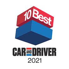 Honda Accord Car and Driver 10Best Award