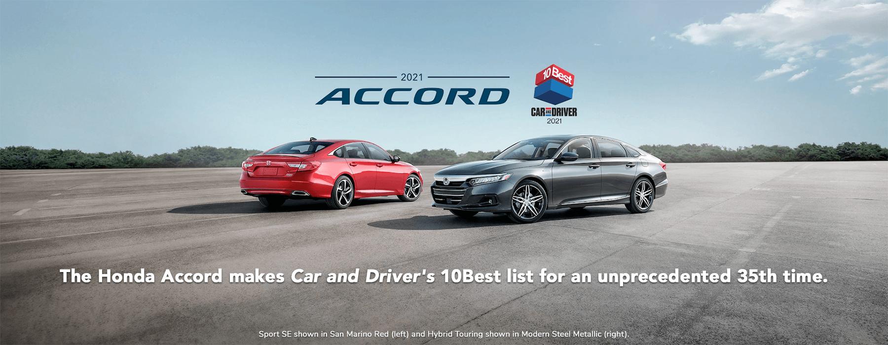 Honda Awards and Accolades Vern Eide Honda Slider