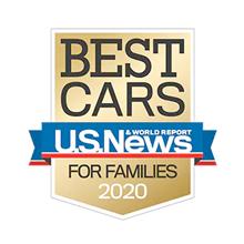 Honda Fit U.S. News Best Car for Families Award