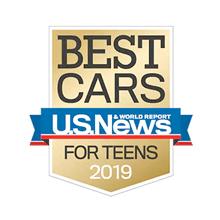 Honda HR-V U.S. News Best Car for Teens Award