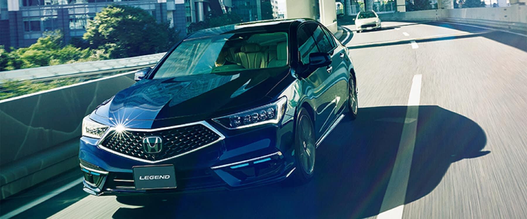 Honda Legend Hybrid with Honda Sensing Elite
