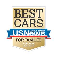 Honda Odyssey U.S. News Best Car for Families Award