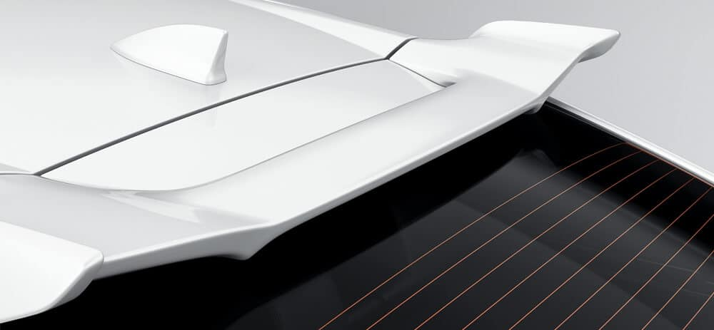 New Honda Civic Hatchback Exterior Accessories Image