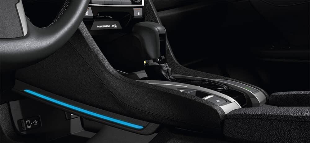 New Honda Civic Hatchback Interior Accessories Image
