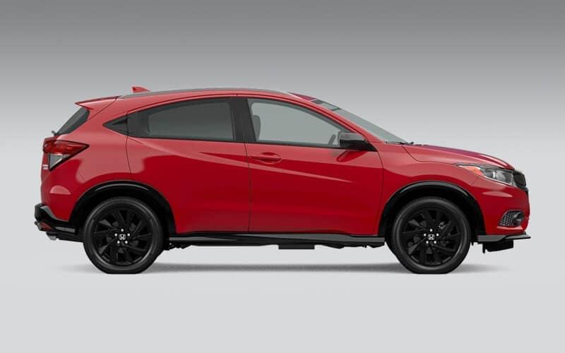 2022 Honda HR-V Exterior Dimensions Image
