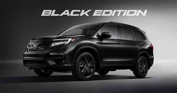 2022 Honda Pilot Black Edition Trim Level