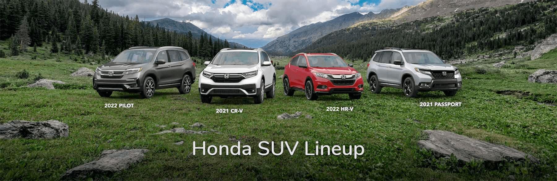 Honda SUV Lineup Vern Eide Honda Sioux Falls Slider
