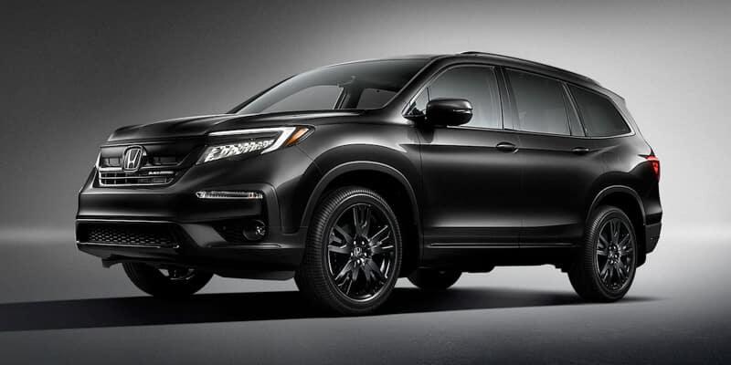 New Honda Pilot Black Edition Exterior Image