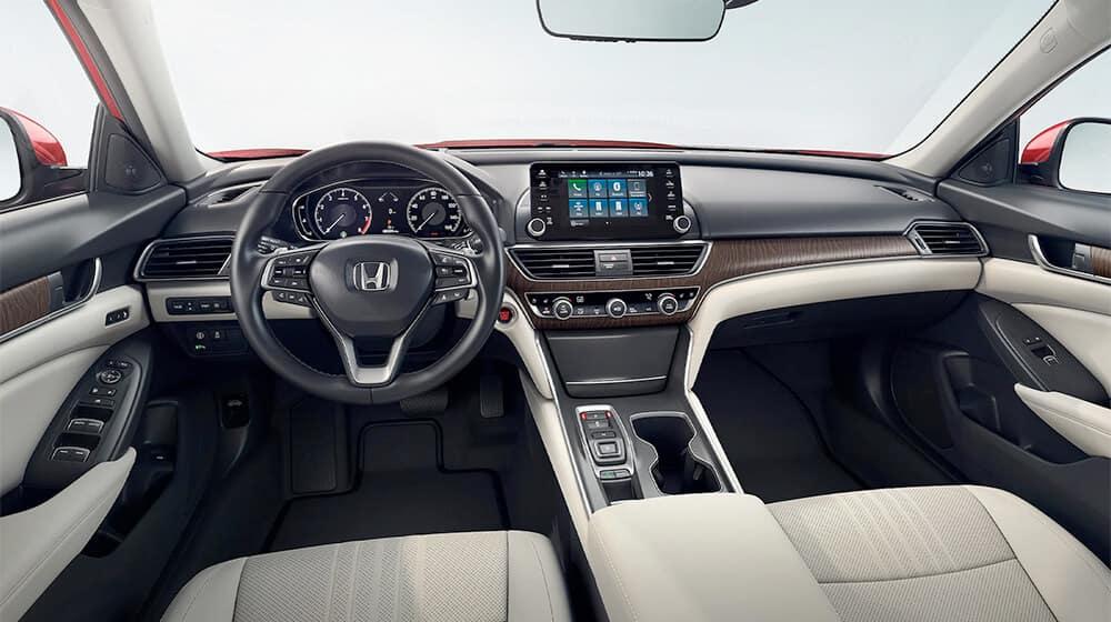 New Honda Accord Touring Interior Image