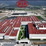 Kia Manufacturing Plant Ariel view
