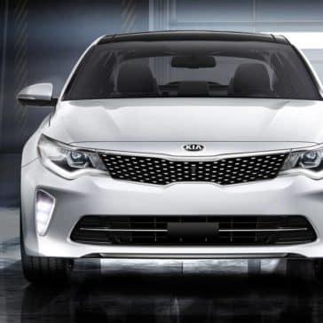 2018 Kia Optima front grille