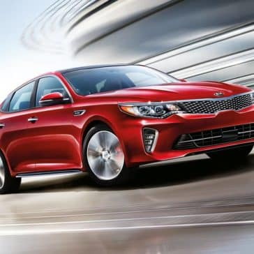 2018 Kia Optima in motion
