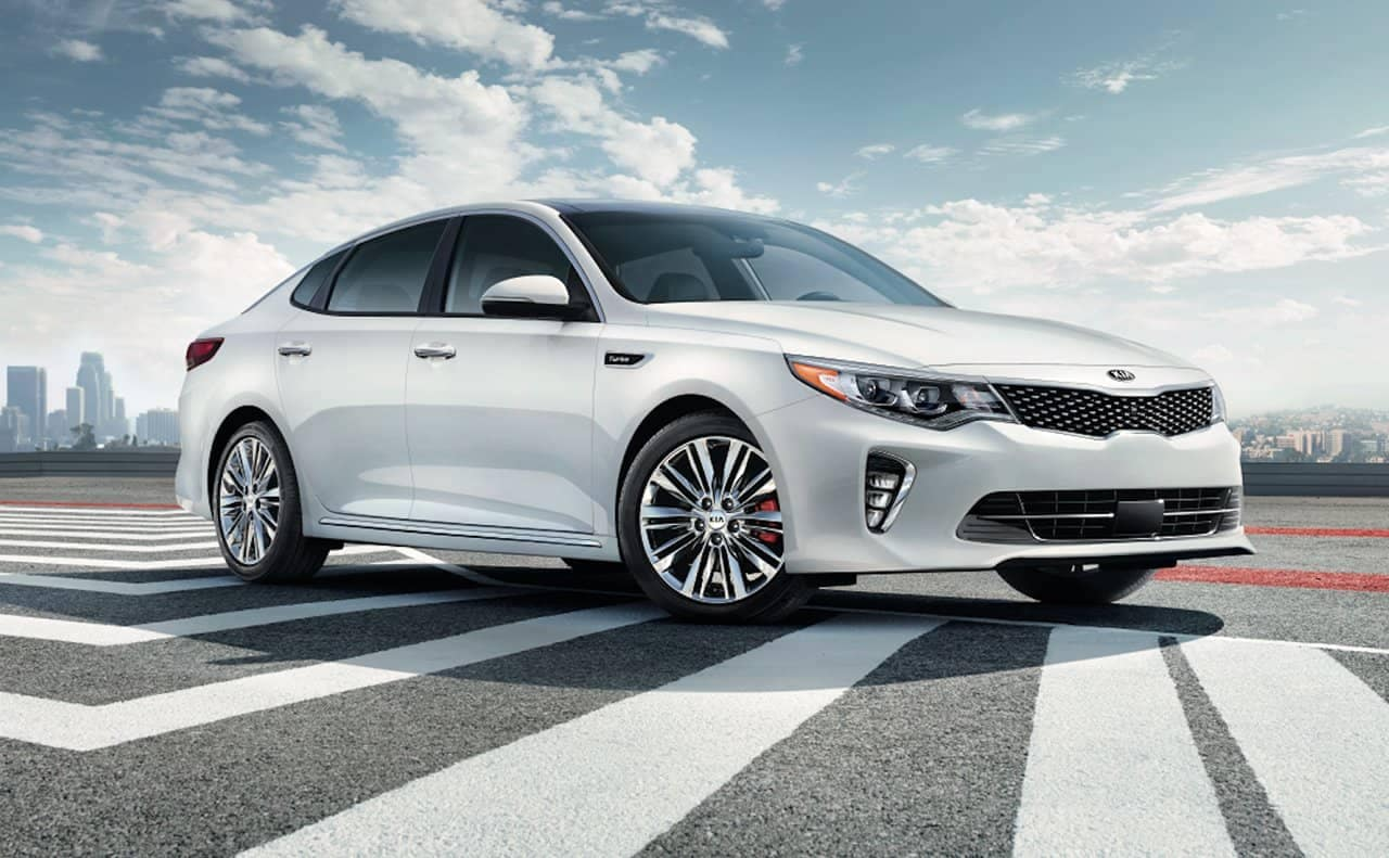 2018 Kia Optima profile view