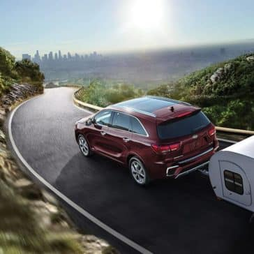 2019 Kia Sorento towing