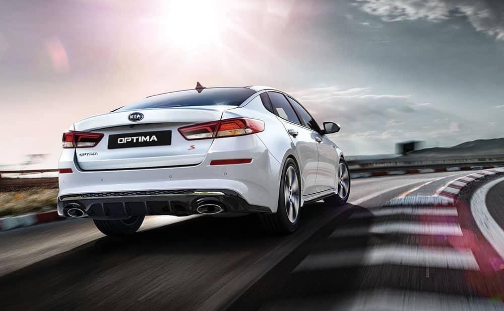 2019 Kia Optima rear driving