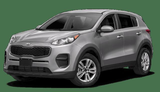 Gray 2019 Kia Sportage