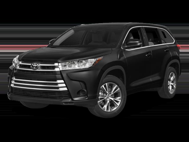 Black 2018 Toyota Highlander