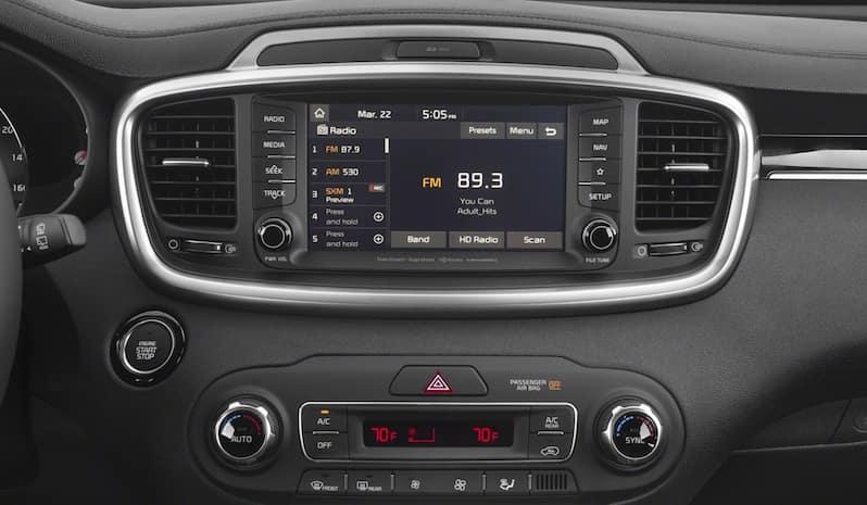 2019 Kia Sorento audio system