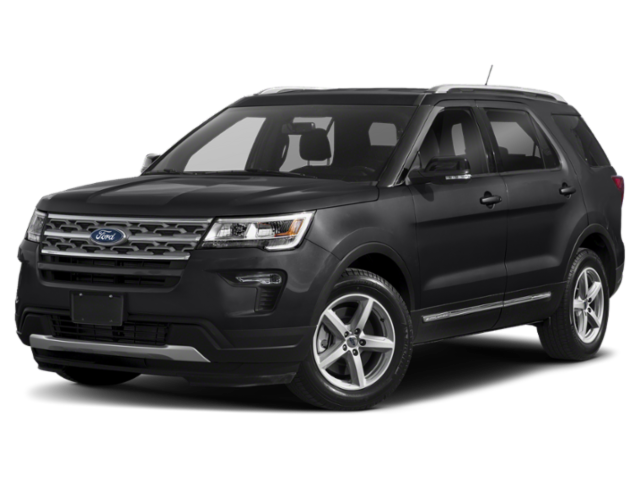 Black 2019 Ford Explorer