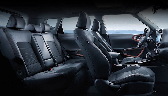 2020 Kia Soul interior leather seats