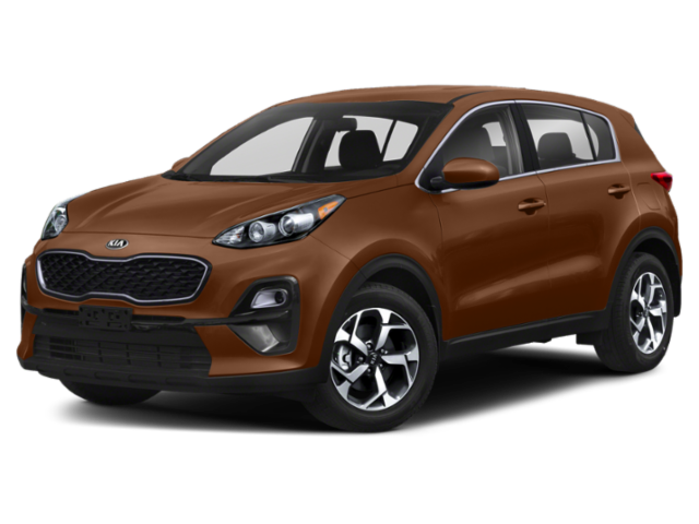 Brown 2020 Kia Sportage EX