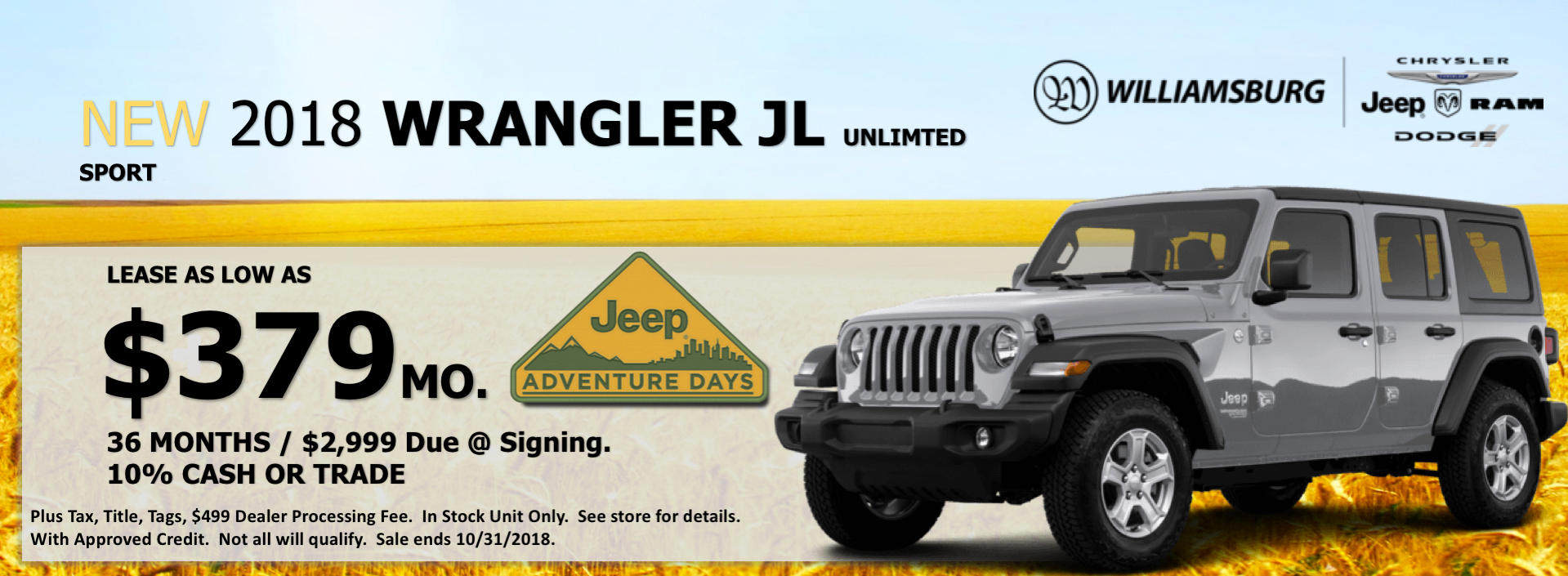 Williamsburg CDJR | Chrysler, Dodge, Jeep, Ram Dealer In Williamsburg, VA