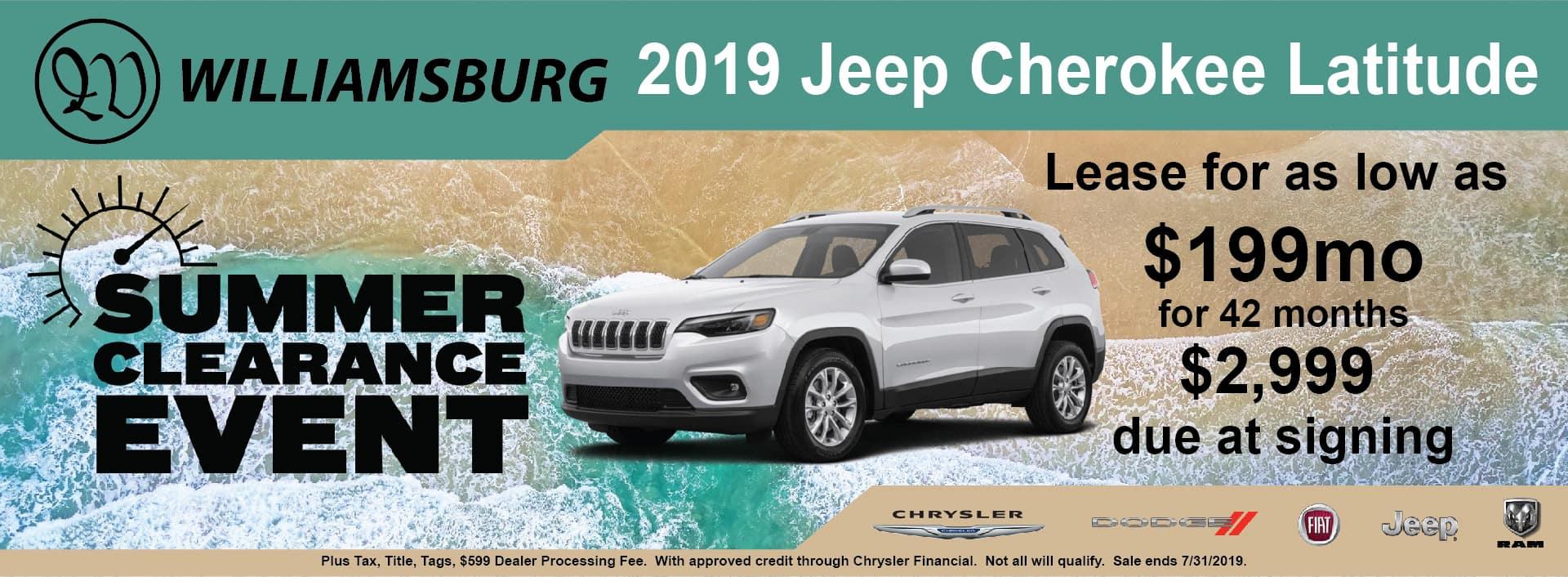 Jeep Dealership Near Me >> Williamsburg Cdjr Chrysler Dodge Jeep Ram Dealer In