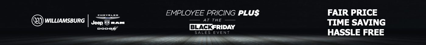 Employee Pricing Plus at the Black Friday Sales Event