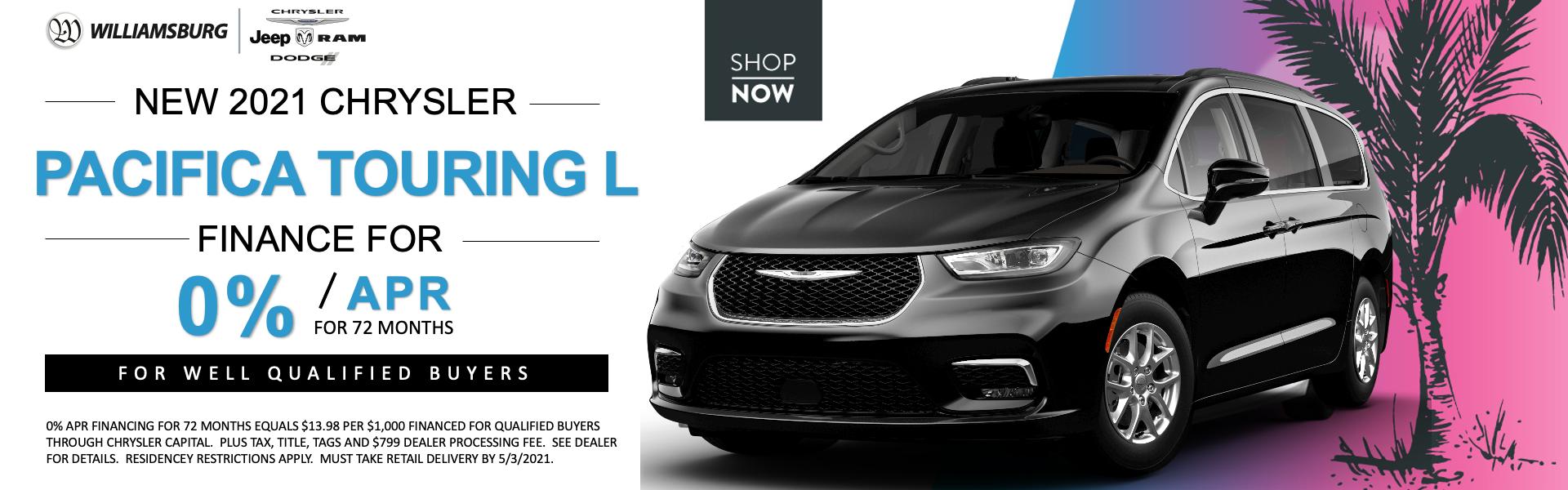 2020 Chrysler Pacifica April Offer