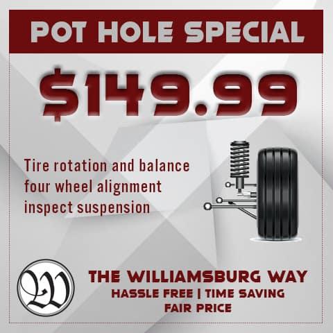 WIlliamsburg PotHole