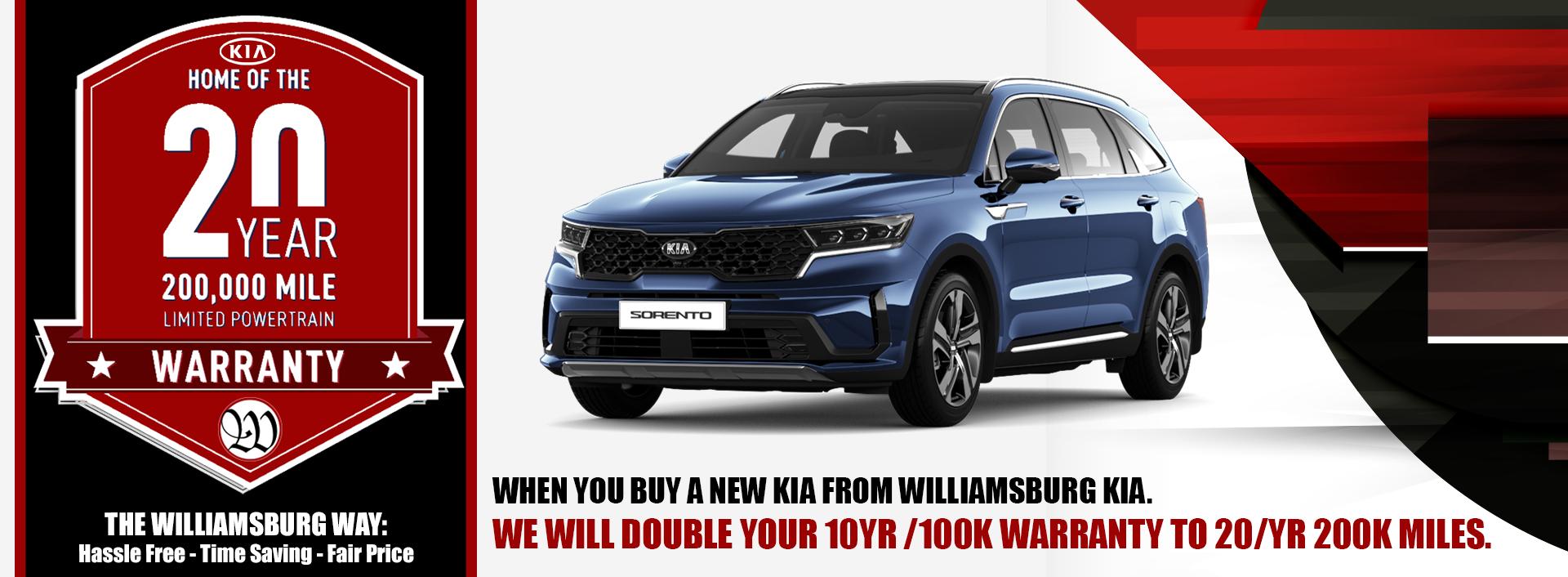 Williamsburg Kia Warranty Plan