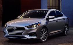 2020 Hyundai Accent near Brandon