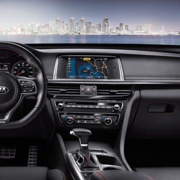 2018 Kia Optima Interior Dashboard