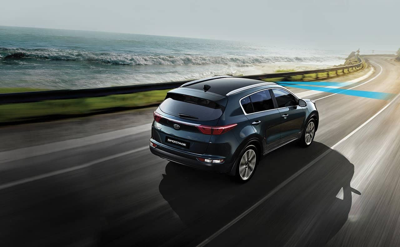 2019 Kia Sportage on road