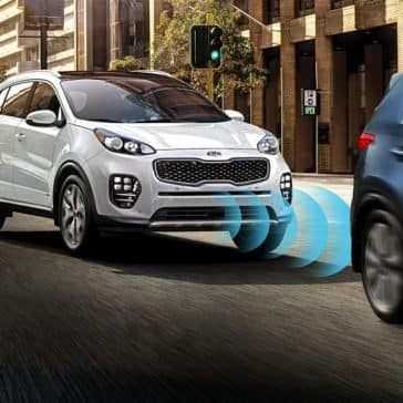 emergency braking 2019 Kia Sportage