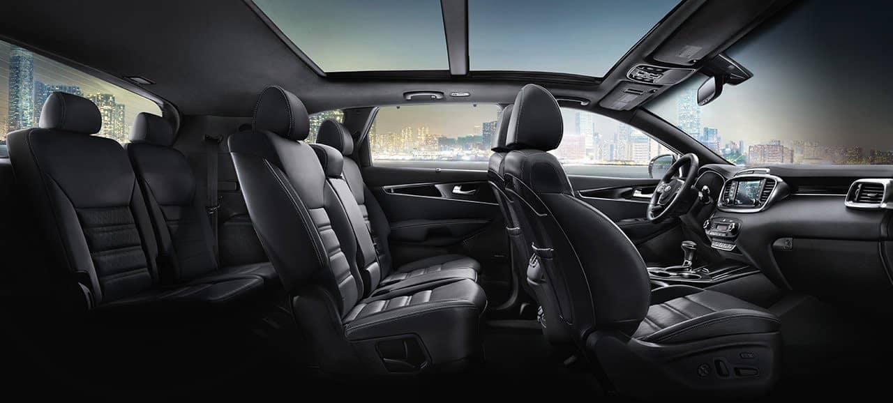 2019 Kia Sorento interior cabin