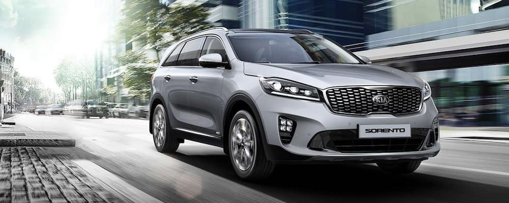 2019 sorento driving in city