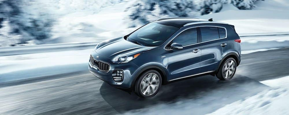 2019 sportage driving in snow