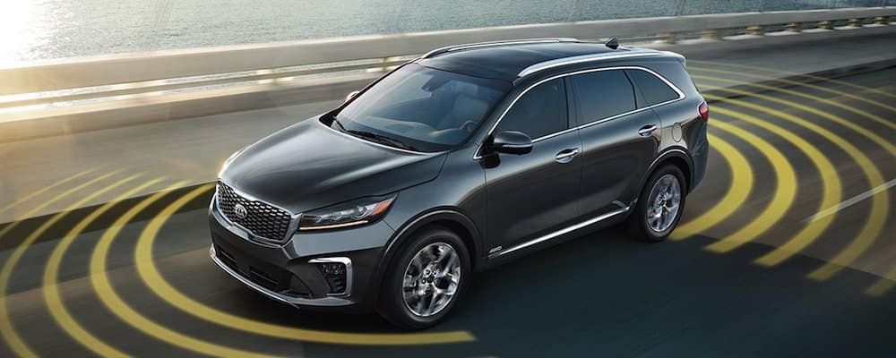 2019 sorento drive-wise display